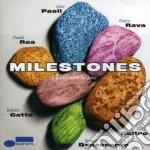 MILESTONES : UN INCONTRO IN JAZZ (E. RAVA- D.REA - R. GATTO...) cd musicale di Gino Paoli