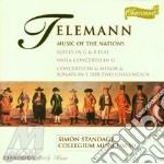 Collegium Musicum 90 - Music Of Nations cd musicale di Telemann georg phili