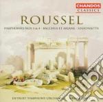 Jarvi Neeme - Detroit Symphony Orchestra - Roussel Albert - Symphonien N 3 & 4 cd musicale di Roussel