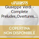 Bbc Philharmonic/Downes - Verdi Cpte Preludes/Ovs/Ballet cd musicale di Verdi