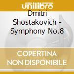 Rsno/Jarvi - Symphony No 8 cd musicale di Shostakovich