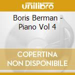 Boris Berman - Piano Vol 4 cd musicale di Sergei Prokofiev