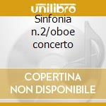 Sinfonia n.2/oboe concerto cd musicale di Richard Strauss