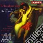 Detroit So/Jarvi - Suite No 2 / The Tempest cd musicale di Tchaikovsky
