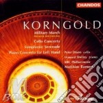 Military march/cello concerto cd musicale di Korngold erich wolfg