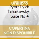 Detroit So/Jarvi - Suite No 4 cd musicale di Tchaikovsky