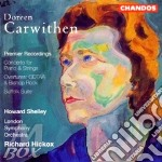 Overture: odtaa/concerto for p cd musicale di Carwithen