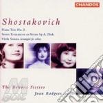 Viola sonata op 147/piano trio cd musicale di Shostakovich