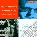 Symphony n 15 cello concerto cd musicale di Shostakovich