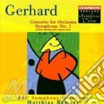 Bbcso/Bamert - Symphony No 2 cd musicale di Gerhard
