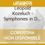 Symphonies cd musicale di Leopold Kozeluch