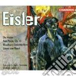 Fasolis Diego - Coro Della Radio Svizzera - Eisler - Die Mutter - Four Pieces - Woodburry-Liederbuchlein - Litanei Vom Hauch cd musicale di Hanns Eisler