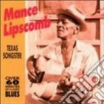 Texas sharecropper and .. cd musicale di Lipscomb Mance