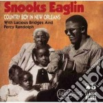 Country boy down in new.. cd musicale di Snooks Eaglin