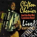 Live cd musicale di Clifton Chenier
