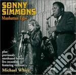 Manhattan egos - simmons sonny cd musicale di Sonny Simmons