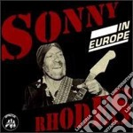 Sonny Rhodes - In Europe cd musicale di Rhodes Sonny