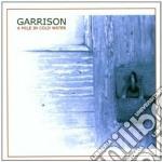 Garrison - A Mile In Cold Water cd musicale di GARRISON