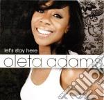 LET'S STAY HERE cd musicale di Oleta Adams