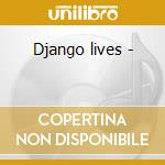 Django lives - cd musicale