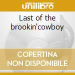 Last of the brookin'cowboy cd musicale
