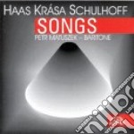 Haas / Schulhoff - Lieder Op.18nn.1>7 cd musicale di Pavel Haas