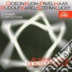 Karel  - Academia Wind Quintet  /membri Del Quartetto Panoche cd musicale