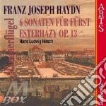 Haydn, J. - 6 Sonaten Fuer Fuerst Est cd musicale di Haydn