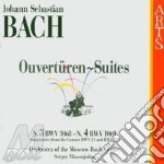 Bach, J. S. - Ouvertueren No.3 & 4,symp cd musicale di Johann Sebastian Bach