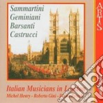Italian Musicians In London cd musicale di Artisti Vari