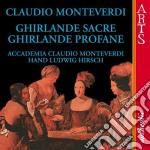 Monteverdi, C. - Ghirlande Sacre-ghirlande cd musicale di Monteverdi
