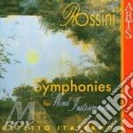 Rossini, G. - Symphonies For Wind Instr cd musicale di Rossini