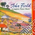 John Field - Complete Piano Music 3 cd musicale di J. Field