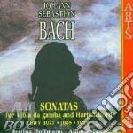 Bach, J. S. - Sonatas For Viola Da Gamb cd musicale di Johann Sebastian Bach