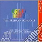 Organ History - The Russian Schools cd musicale di Sacchetti - vv.aa.