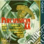 Percussion Xx cd musicale di Faralli j. - vv.aa.