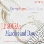 John Philip Sousa - Marches & Dances cd musicale di J.p. Sousa