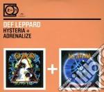 2 FOR 1: HYSTERIA/ADRENALI cd musicale di DEF LEPPARD