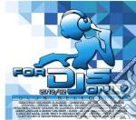 For djs only 2012/02 (2cd) cd musicale di Artisti Vari