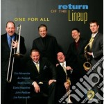One For All - Return Of The Lineup cd musicale di ONE FOR ALL