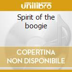 Spirit of the boogie cd musicale di Kool & the gang
