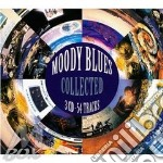 COLLECTED  ( 3 CD) cd musicale di MOODY BLUES