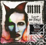 Marilyn Manson - Lest We Forget - Best Of cd musicale di MARILYN MANSON