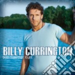 DOIN' SOMETHING RIGHT cd musicale di CURRINGTON BILLY