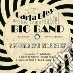 Carla Bley - Appearing Nightly cd musicale di Carla Bley