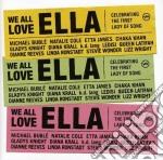 WE ALL LOVE ELLA cd musicale di ARTISTI VARI