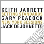 SETTING STANDARDS - NEW YORK SESSIONS (BOX 3 CD- WITH  PEACOCK - DEJOHNETTE) cd musicale di JARRETT-PEACOCK-DEJOHNETTE