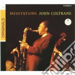 John Coltrane - Meditations cd musicale di John Coltrane