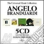 THE UNIVERSAL MUSIC COLLECTION (BOX 5 CD) cd musicale di Angelo Branduardi
