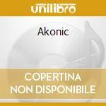 Akonic cd musicale di Akon